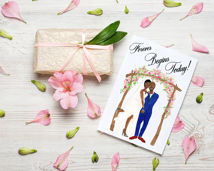 Forever Begins Today Card