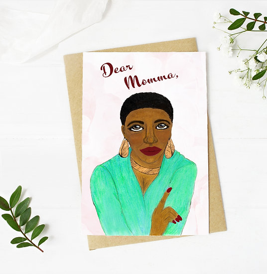 Dear Momma Mothers Day Card