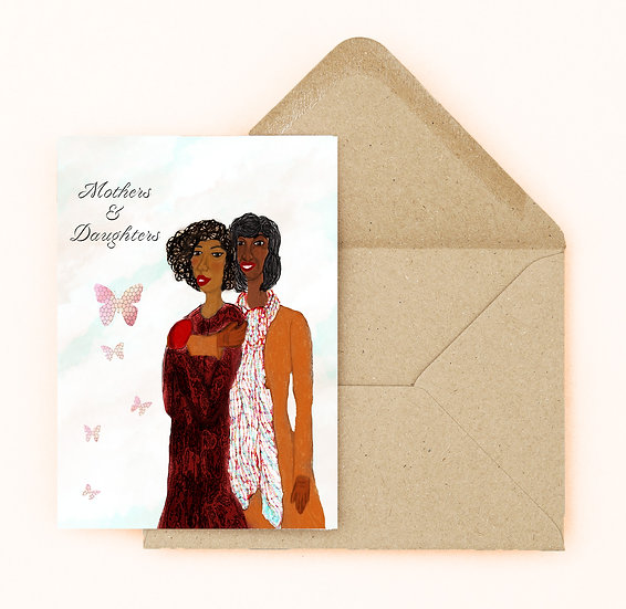 Daughters & Mothers Mother's Day Card