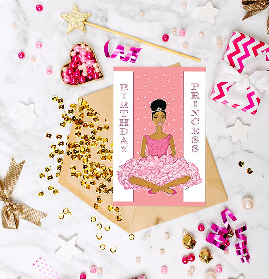 Birthday Princess Birthday Card