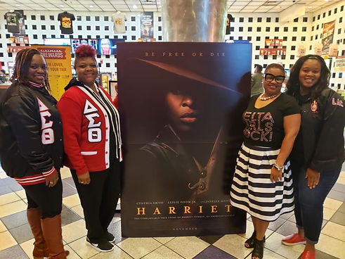 LAC at viewing of Harriet November 2019