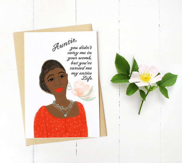 Happy Mother's Day Auntie Card