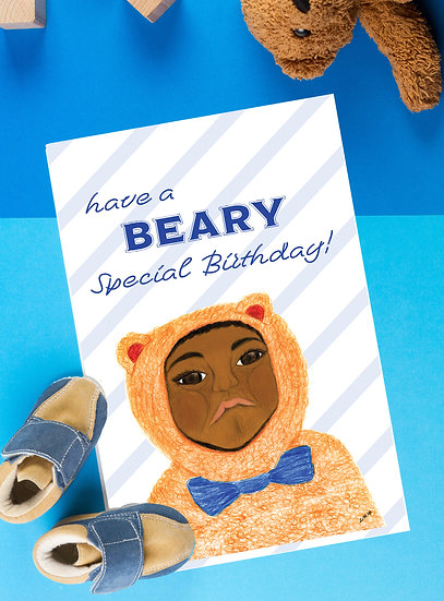 Have a Beary Special Birthday Card
