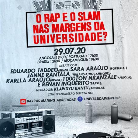 Eduardo Taddeo e Inquérito transmitem abertura do Festival Decolonial