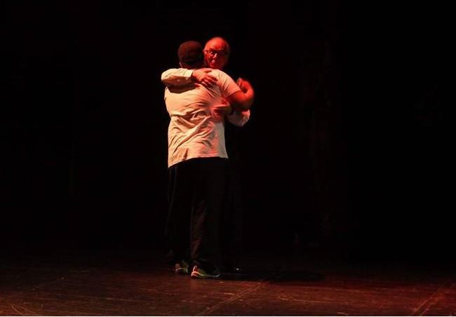 Eu e o professor Boaventura de Sousa Santos