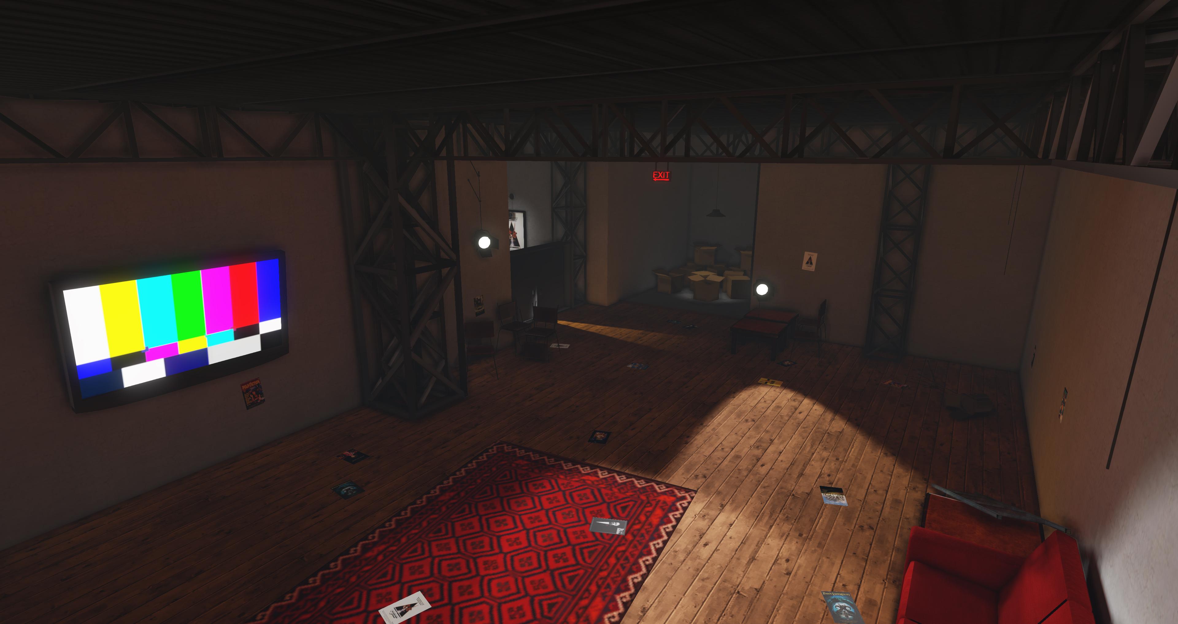 UE4 Studio Warehouse | portfolio