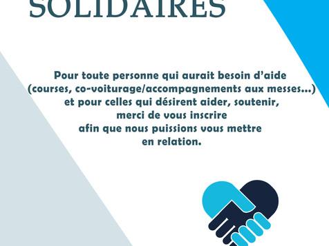 Paroissiens, paroissiennes solidaires