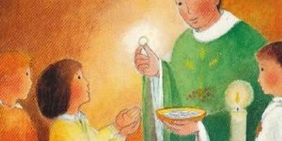 Premieres communions a Saint Jerome