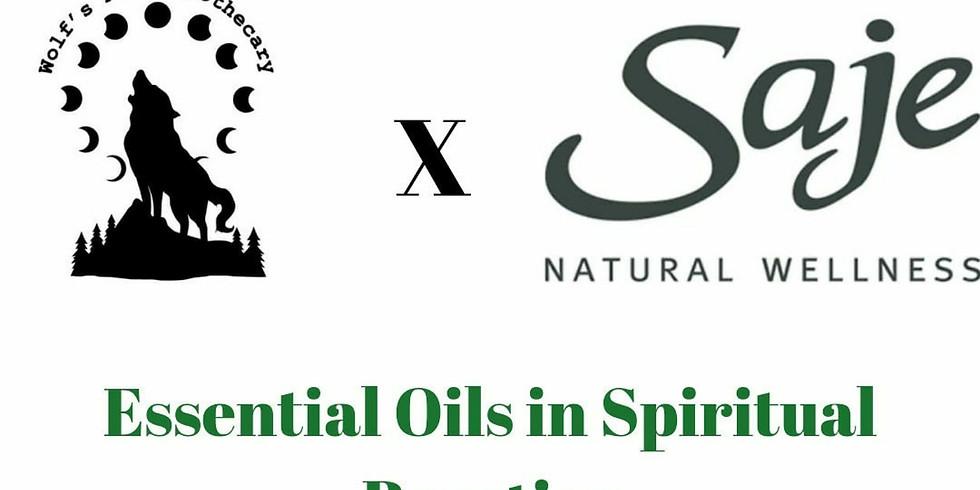 Essential Oils in Spiritual Practices