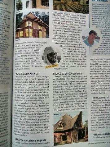 Para Dergisi'nin Serkan Duman ile söyleşisi