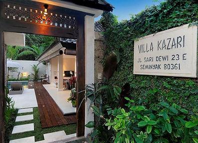 Welcome to Villa Kazari Zen in Seminyak, Bali