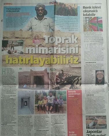 Yeni Şafak Gazetesi Röportajı