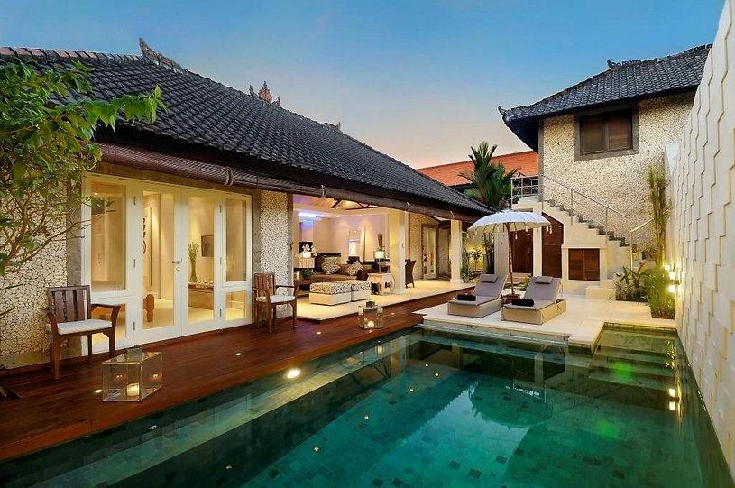 Understated luxury in Seminyak, Bali