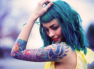 Girl with a Shoulder Tattoo
