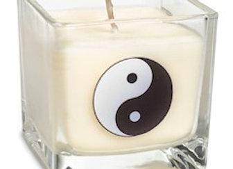 Bougie parfumée à la cire de colza Yin yang