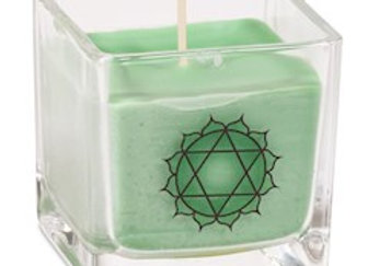 Bougie parfumée cire de colza ecolo 4e chakra