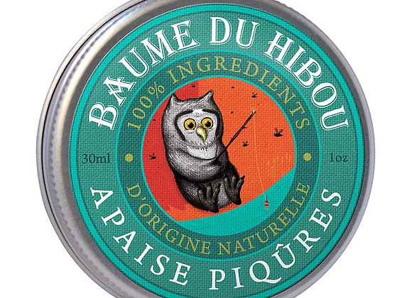 Baume du hibou - Apaise piqûres - BIO