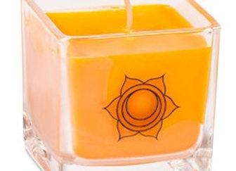 Bougie parfumée cire de colza ecolo 2e chakra