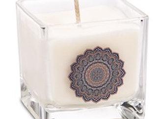 Bougie parfumée à la cire de colza Mandala