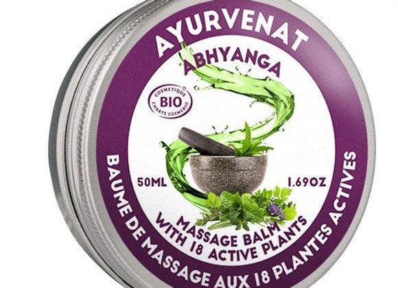 Baume de massage ayurvédique aux 18 herbes 50 ml