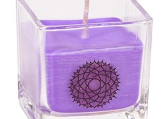 Bougie parfumée cire de colza ecolo 7e chakra