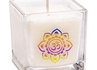 Bougie cire de colza écologique parfumée Om