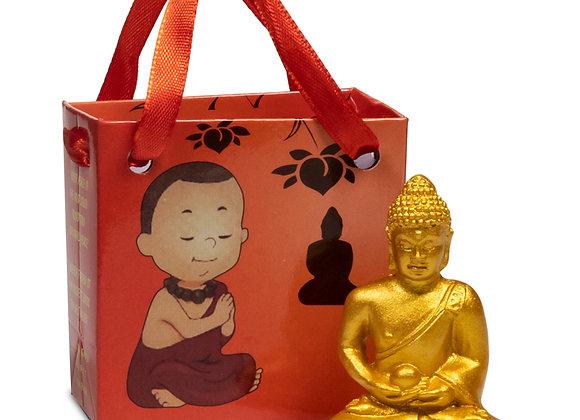 Bouddha de la Méditation dans sac cadeau