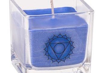 Bougie parfumée cire de colza ecolo 5e chakra