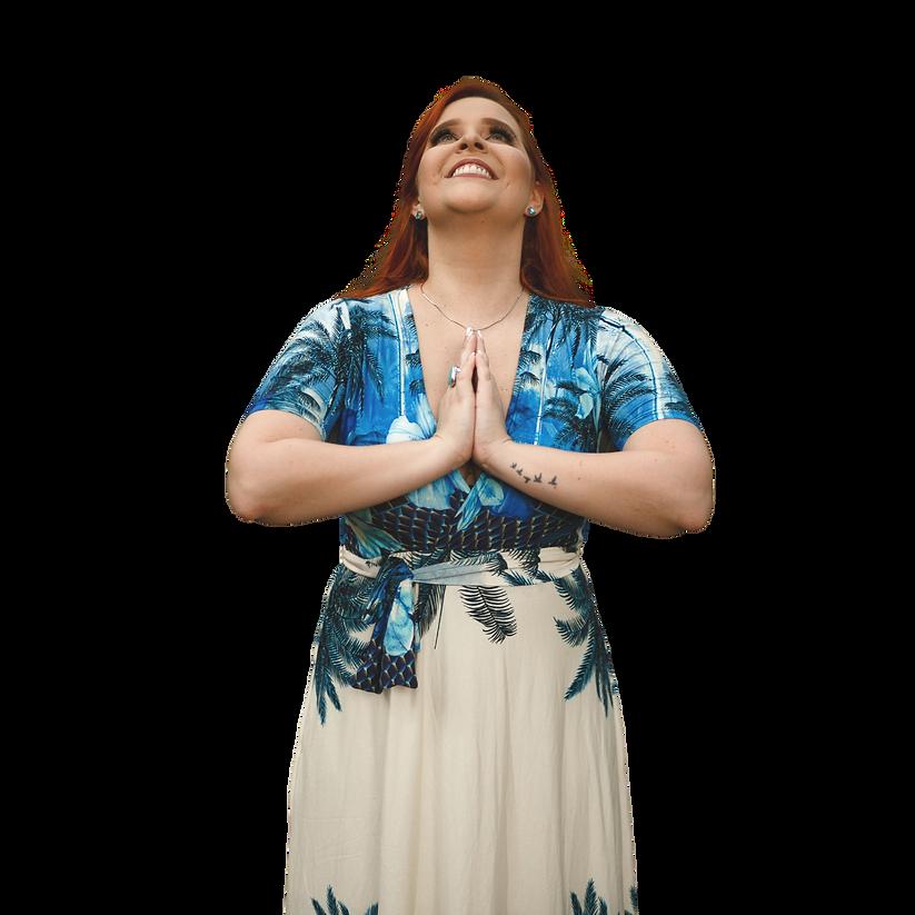 Post Roxo de Yoga no Dia da Mulher para