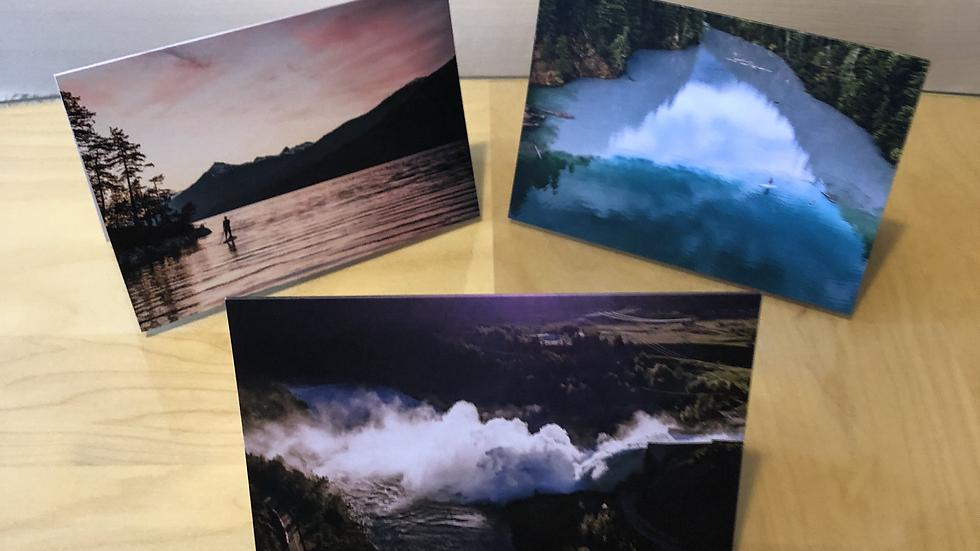 3 Revelstoke Art Cards