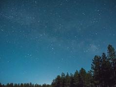 Our brilliant night sky