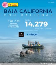 BAJA CALIFORNIA CON BALLENAS