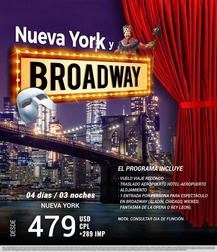 Nueva York y Brodway