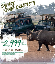 Safari Kenia Completa