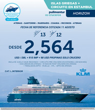 Horizon Islas Griegas + Circuito En Estambul