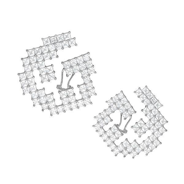cercei argint- zambet romanesc- Claudia Florentina