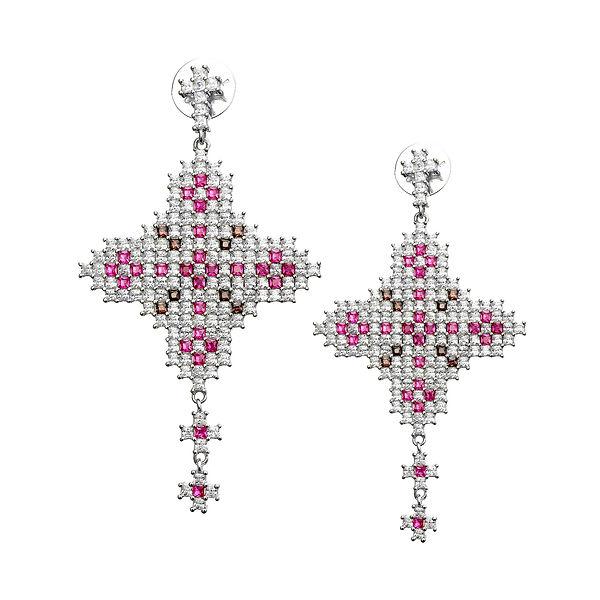 cruce argint Claudia Florentina