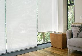 cortinas enrollables para sala de estar