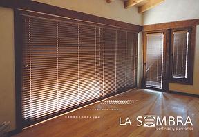 persianas economicas de madera en guadalajara