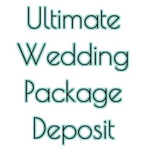 $150 Makeup and Hair Wedding DEPOSIT