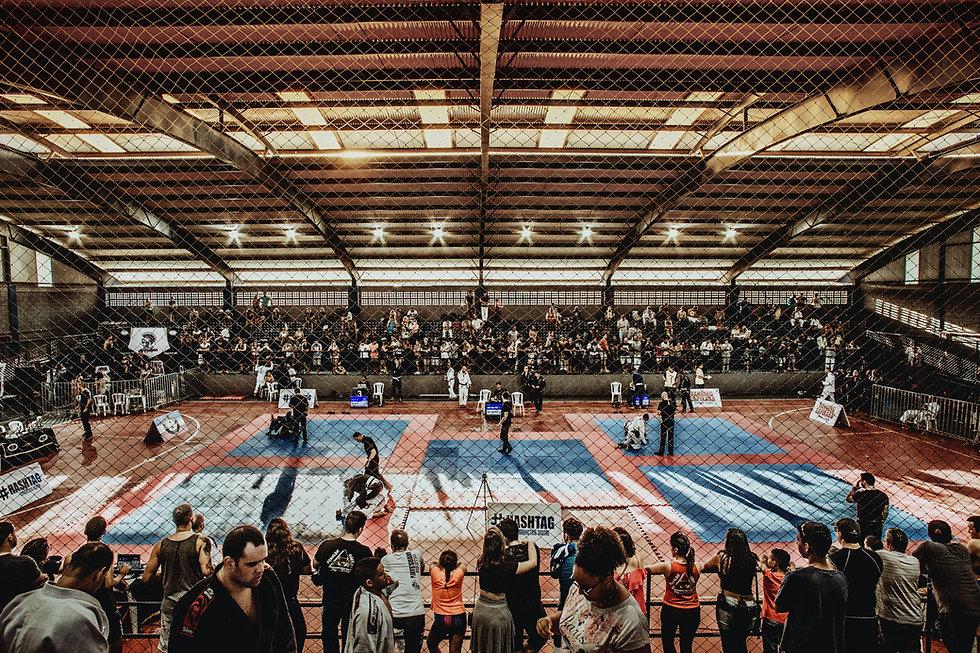 Arena, BJJ, Wettkampf