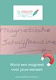 Kaft de magnetische schrijfroutine (1) (