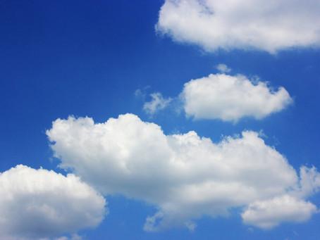 Over een K*@#%& dag en wolken aan de hemel.