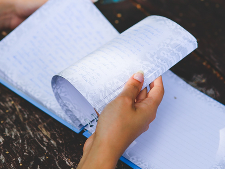 Schrijven van zwaar naar licht