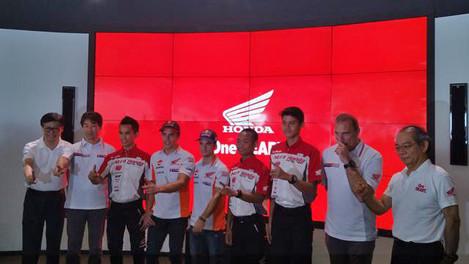 Honda MotoGP Racing Team Pers Conference