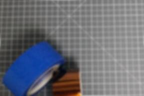 Blue Tape und Kapton Tape