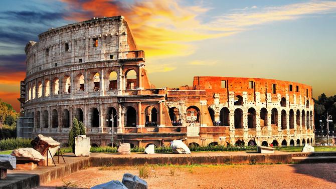 Roma por Danila e Gabriela