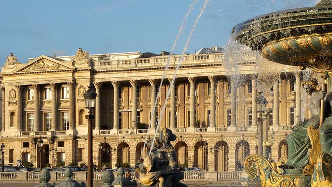 Reabertura do histórico Hôtel Crillon, em Paris.