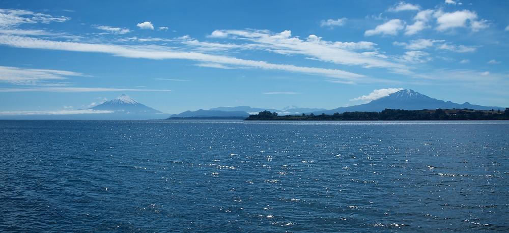 Vulcões Calbuco e Osorno