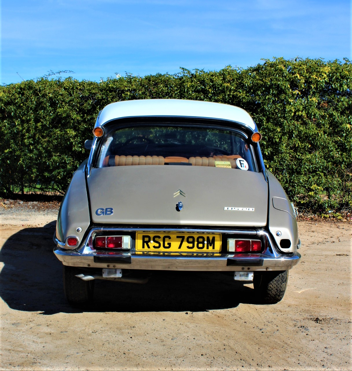 1974 Citroen DS20 - Back